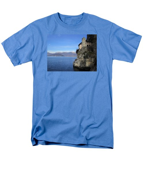 Men's T-Shirt  (Regular Fit) featuring the photograph Santa Caterina - Lago Maggiore by Travel Pics