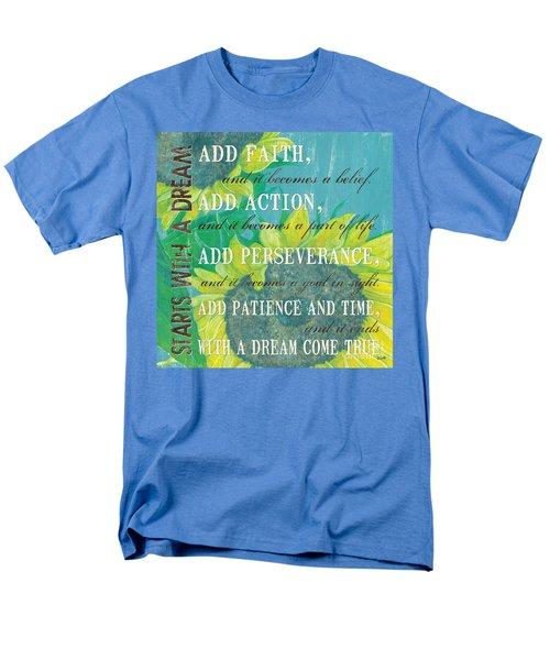 Starts with a Dream T-Shirt by Debbie DeWitt
