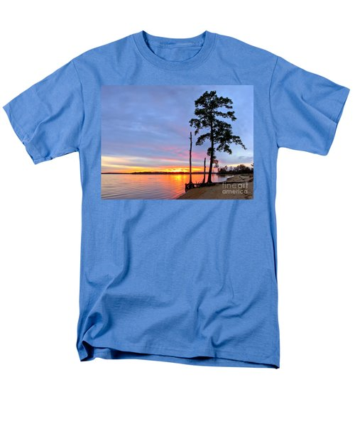 Sunset on the James River T-Shirt by Olivier Le Queinec