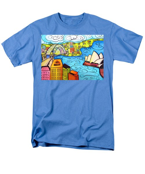 Sydney Harbour  T-Shirt by Oiyee  At Oystudio