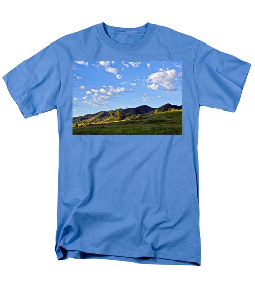When Clouds Meet Mountains T-Shirt by Angelina Vick