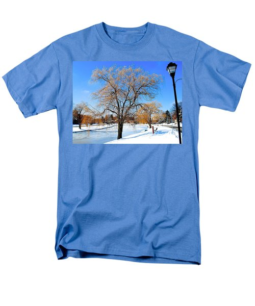 Winter Willow T-Shirt by Frozen in Time Fine Art Photography
