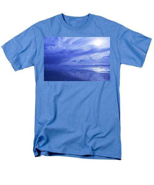 Blue Waterscape T-Shirt by Christine Mariner