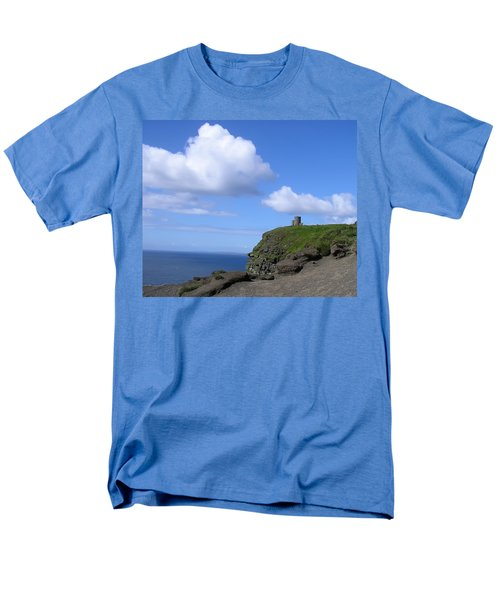 Castle on the Cliffs of Moher T-Shirt by Bill Cannon