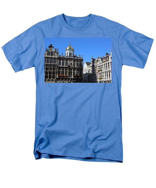 Grand Place Buildings T-Shirt by Carol Groenen