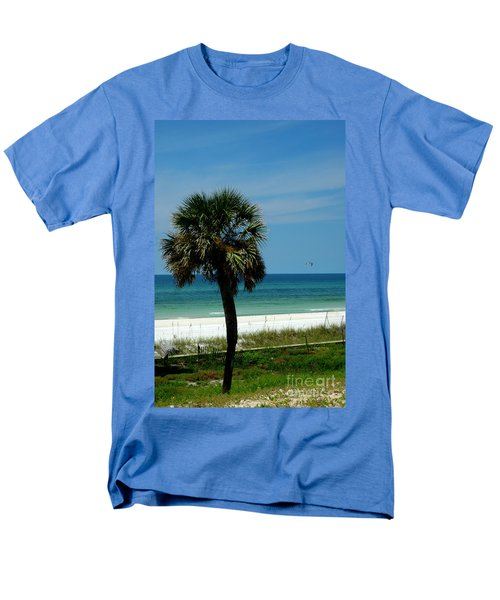 Palmetto and the Beach T-Shirt by Susanne Van Hulst