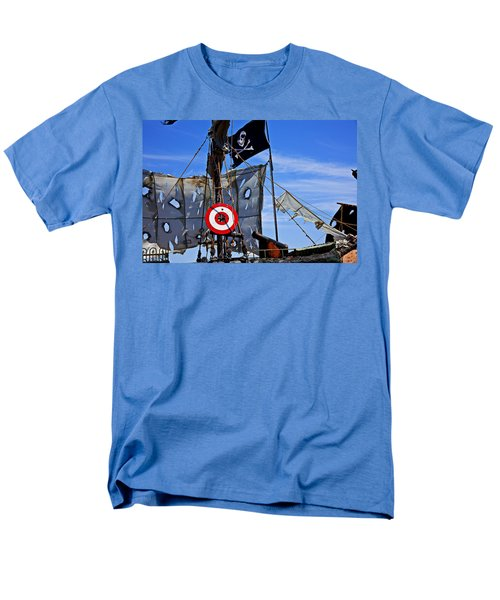 Pirate ship with target T-Shirt by Garry Gay