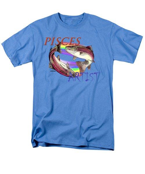 Pisces Artist Men's T-Shirt  (Regular Fit) by Joseph Juvenal