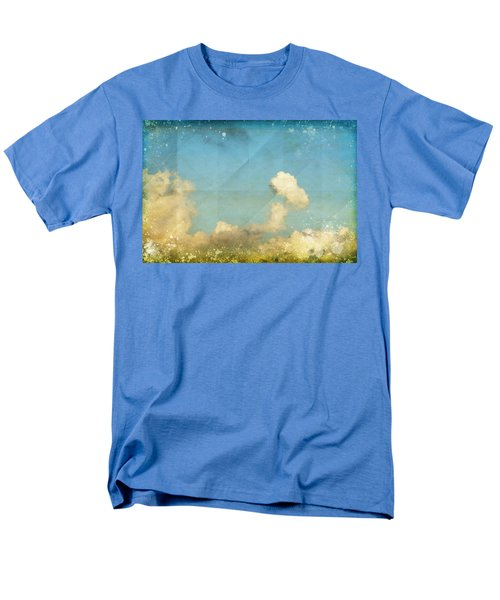 sky and cloud on old grunge paper T-Shirt by Setsiri Silapasuwanchai