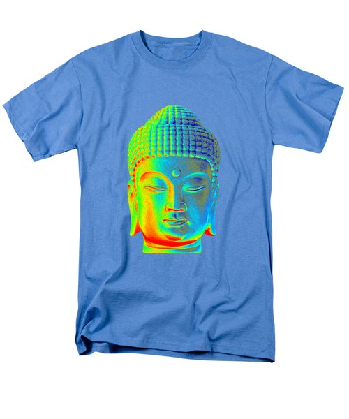 colorful Buddha - Korean Men's T-Shirt  (Regular Fit) by Terrell Kaucher