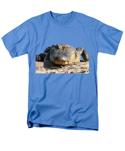 Alligator Approach .png Men's T-Shirt  (Regular Fit) by Al Powell Photography USA