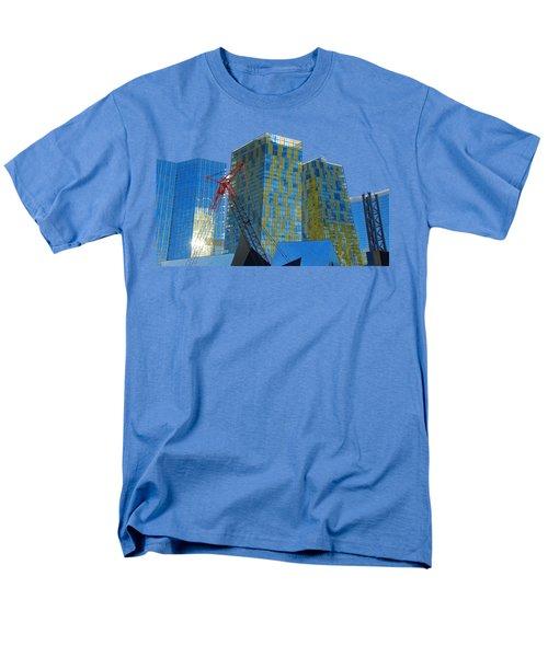 Under Construction Men's T-Shirt  (Regular Fit) by Debbie Oppermann
