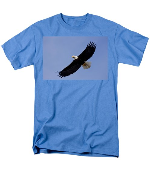 Bald Eagle in flight T-Shirt by John Hyde - Printscapes