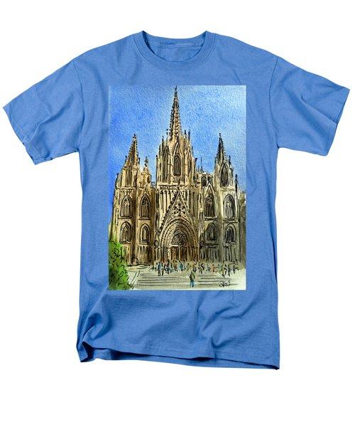 Barcelona Spain T-Shirt by Irina Sztukowski