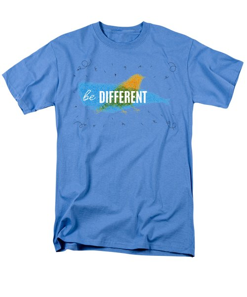 Be Different Men's T-Shirt  (Regular Fit) by Aloke Design