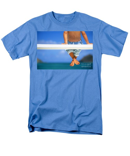 Bench By The Ocean T-Shirt by Dana Edmunds - Printscapes