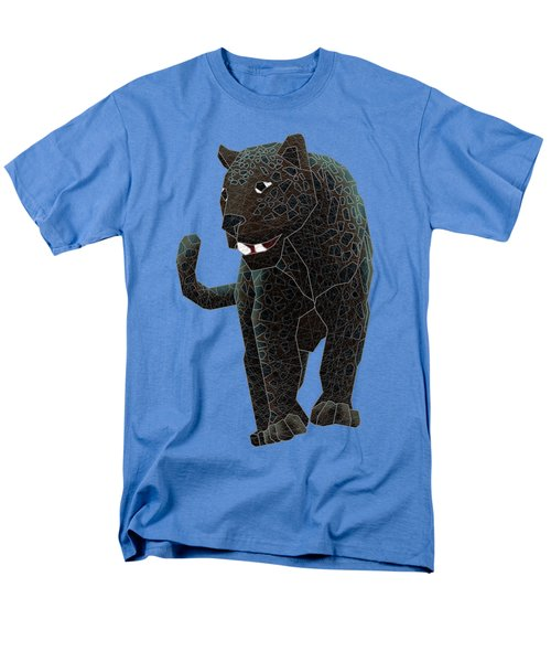 Black Panther Men's T-Shirt  (Regular Fit) by Dusty Conley
