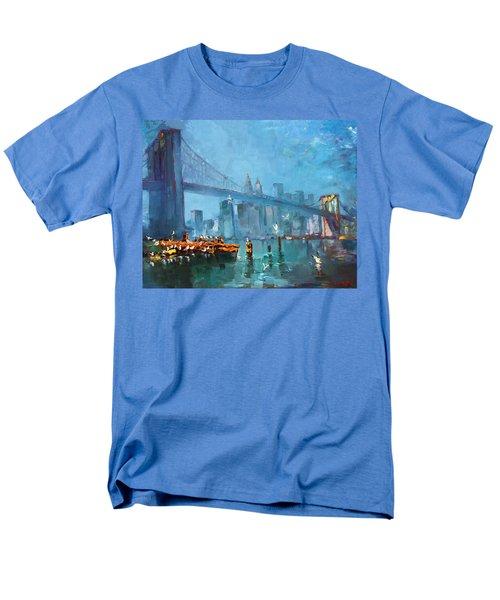 Brooklyn Bridge T-Shirt by Ylli Haruni