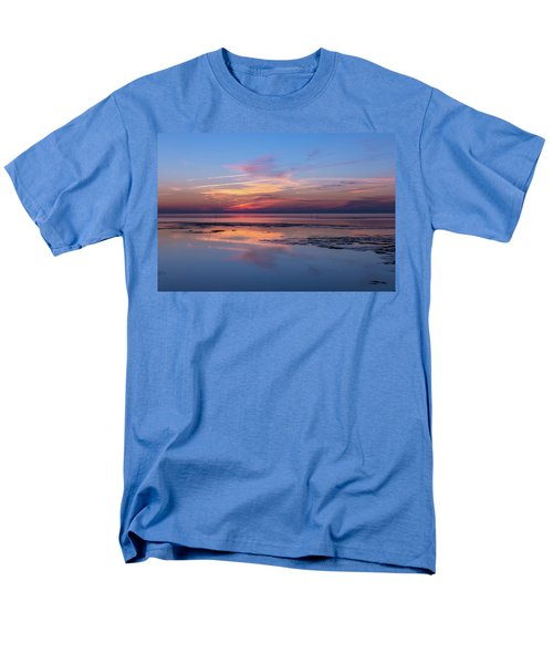 Men's T-Shirt  (Regular Fit) featuring the photograph Draw The Line by Thierry Bouriat