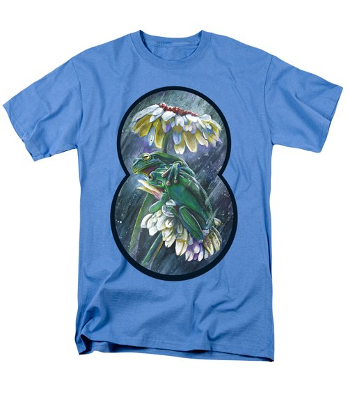 Frogs- Optimized For Shirts And Bags Men's T-Shirt  (Regular Fit) by Michael Volpicelli