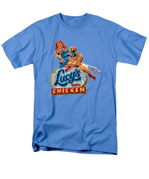Lucys Fried Chicken Tee Men's T-Shirt  (Regular Fit) by Edward Fielding