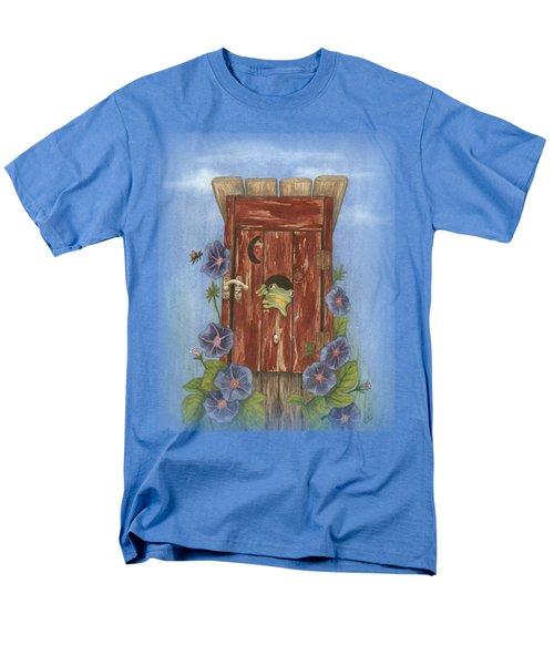 Nature Calls Men's T-Shirt  (Regular Fit) by Julie Senf