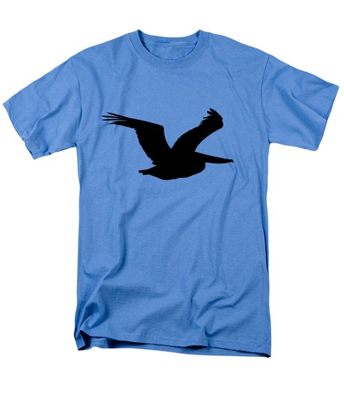 Pelican Profile .png Men's T-Shirt  (Regular Fit) by Al Powell Photography USA