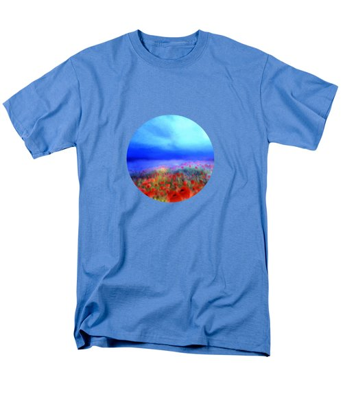 Poppies in the mist T-Shirt by Valerie Anne Kelly