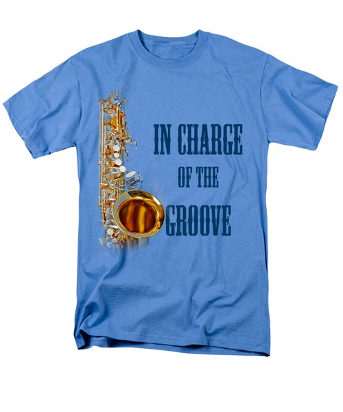 Saxophones In Charge Of The Groove 5532.02 Men's T-Shirt  (Regular Fit) by M K  Miller