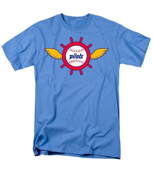 Seattle Pilots Retro Logo Men's T-Shirt  (Regular Fit) by Spencer McKain