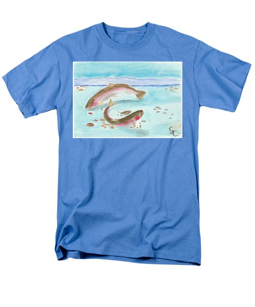 Spawning Rainbows Men's T-Shirt  (Regular Fit) by Gareth Coombs