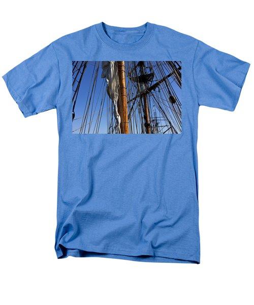 Tall ship rigging Lady Washington T-Shirt by Garry Gay