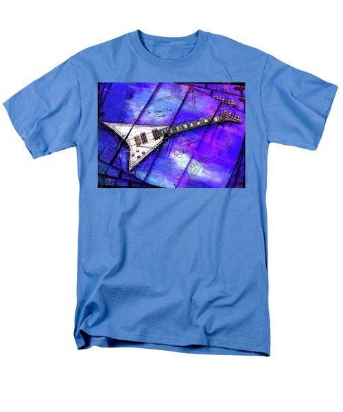 The Concorde On Blue Men's T-Shirt  (Regular Fit) by Gary Bodnar