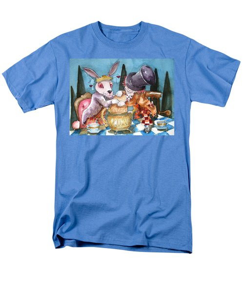 The Tea Party T-Shirt by Lucia Stewart