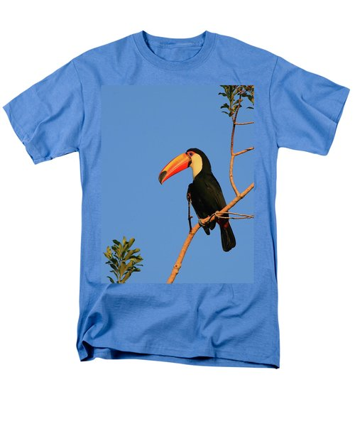 Toco Toucan Men's T-Shirt  (Regular Fit) by Bruce J Robinson