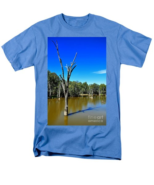 Tree Stumps in Beauty T-Shirt by Kaye Menner