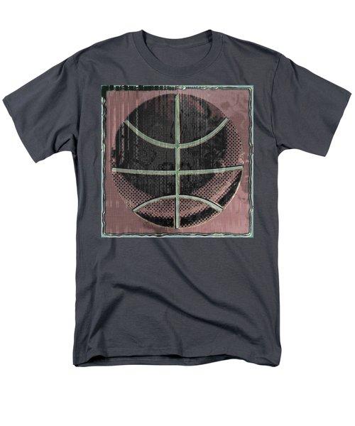 Basketball Abstract T-Shirt by David G Paul