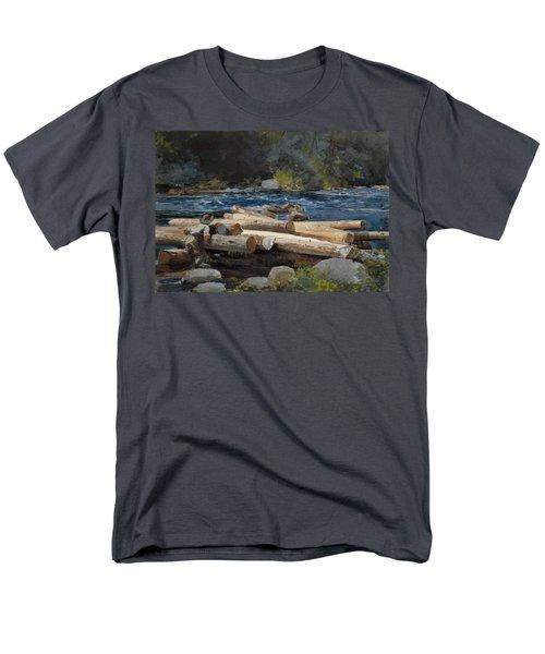 Hudson River T-Shirt by Winslow Homer