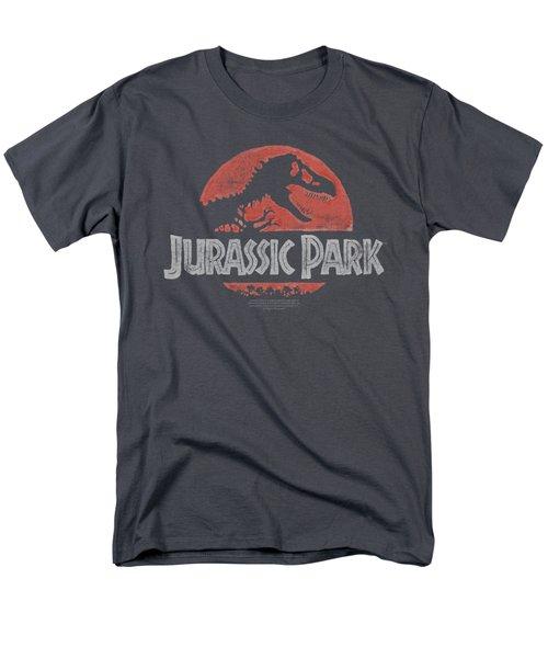 Jurassic Park - Faded Logo Men's T-Shirt  (Regular Fit) by Brand A