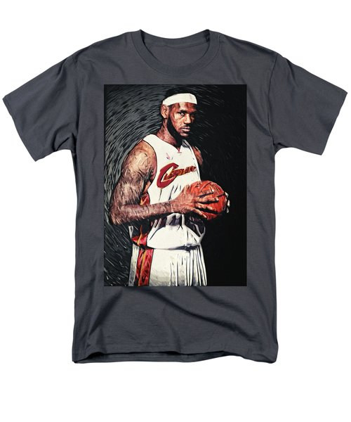 Lebron James Men's T-Shirt  (Regular Fit) by Taylan Soyturk