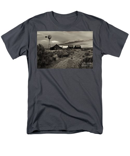 Lonely House on the Prairie T-Shirt by Mike  Dawson