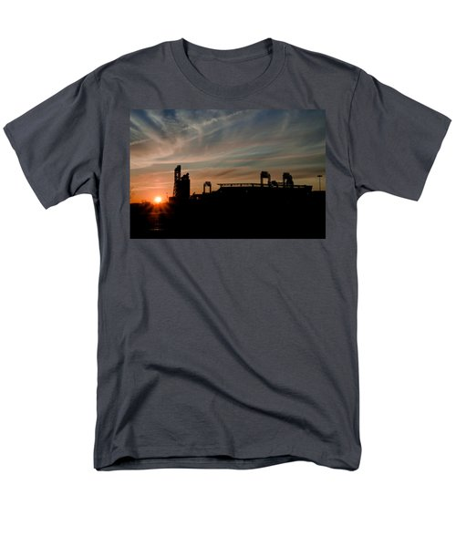 Phillies Stadium at Dawn T-Shirt by Bill Cannon