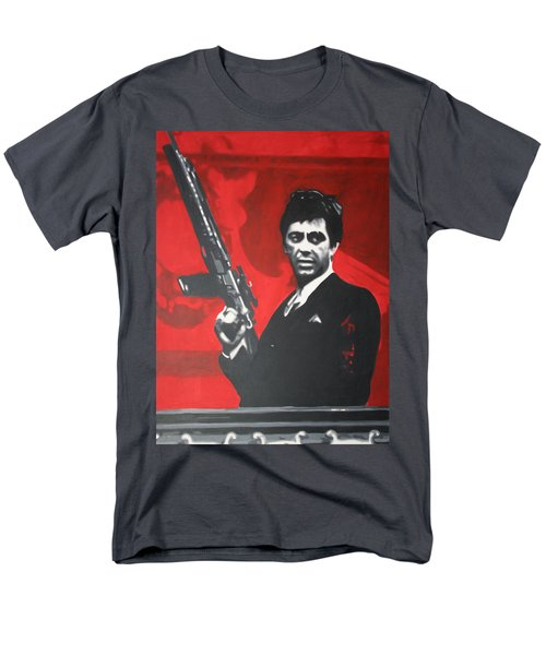 Scarface T-Shirt by Luis Ludzska
