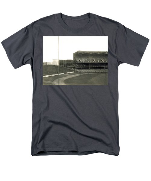 1923 Yankee Stadium Men's T-Shirt  (Regular Fit) by Underwood Archives