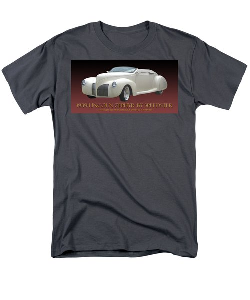 1939 Lincoln Zephyr Poster T-Shirt by Jack Pumphrey