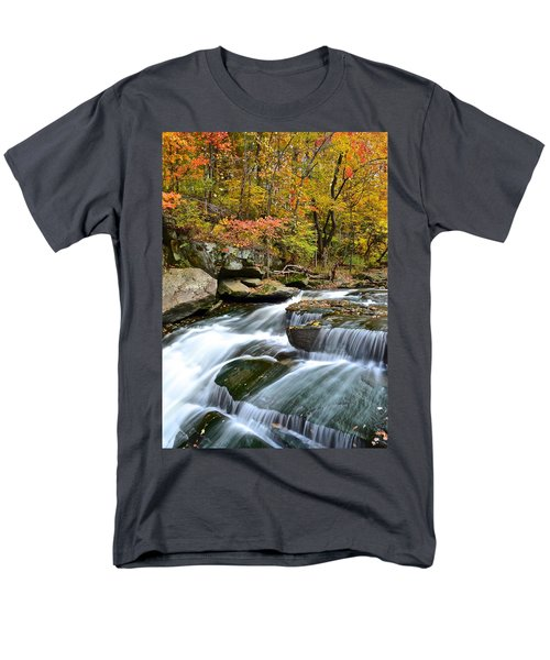 Berea Falls T-Shirt by Frozen in Time Fine Art Photography