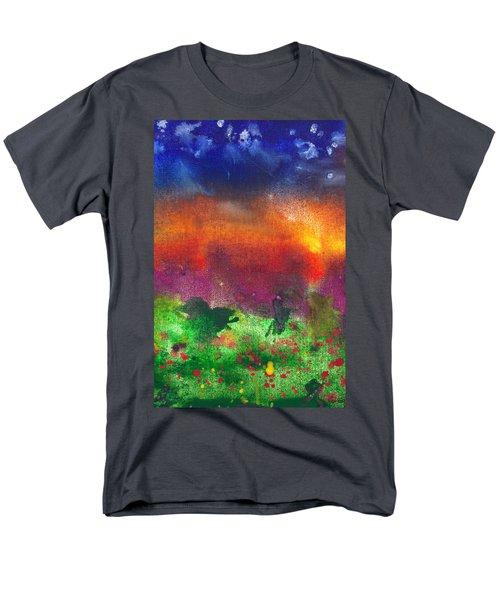 Abstract - Crayon - Utopia T-Shirt by Mike Savad