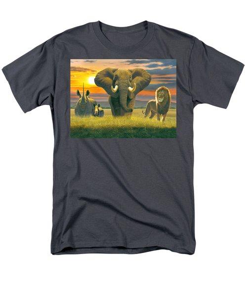 Africa Triptych Variant T-Shirt by Chris Heitt