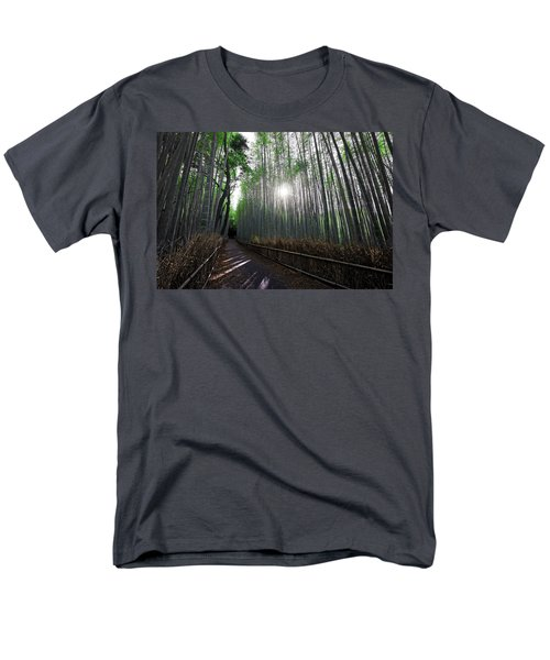 BAMBOO FOREST PATH of KYOTO T-Shirt by Daniel Hagerman