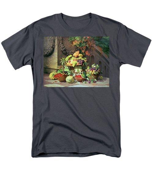 Baskets Of Summer Fruits Men's T-Shirt  (Regular Fit) by William Hammer